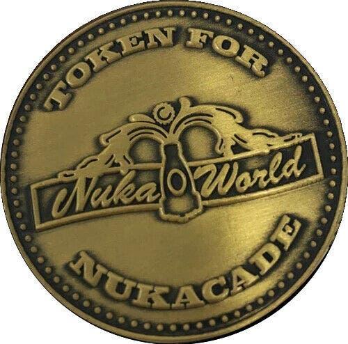 Fallout Nuka Token Collectible Coin