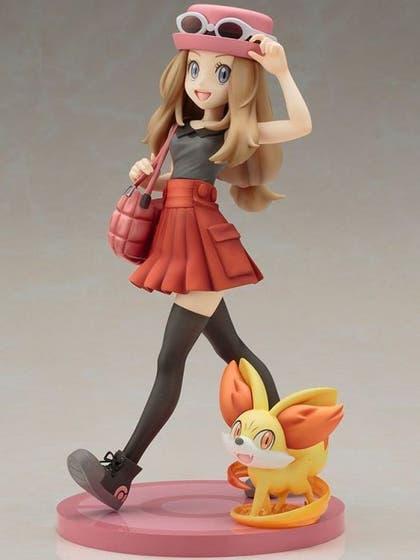 Serena with Fennekin ARTFX J PVC Figure 19 cm
