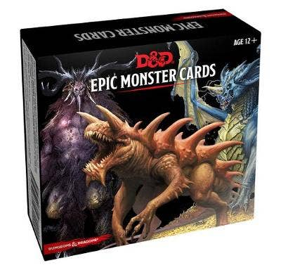 Dungeons & Dragons Spellbook Cards: Epic Monsters (D&D Accessory)