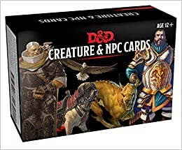 Dungeons & Dragons Spellbook Cards: Creature & Npc Cards (D&d Accessory)