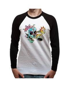 Skull Eyes Baseball Shirt (L)