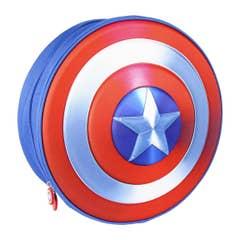 Captain America Shield 3D Kids Backpack