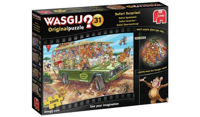 Safari Surprise Puzzle (1000)