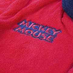 Mickey Mouse Fleece Kid's Dressing Gown (3 Years)