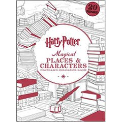 Harry Potter Magical Places & Characters Postcard Coloring Book, 3