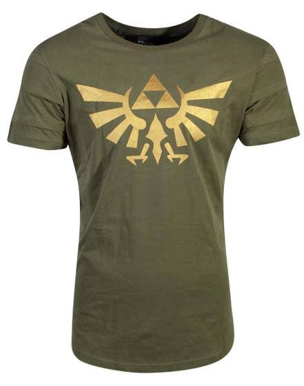 Hyrule Pintuck Long Line T-Shirt (L)