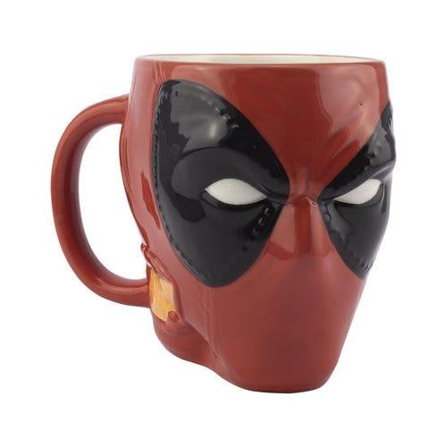 Deadpool Shaped 3D Mug