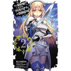 Is It Wrong to Try to Pick Up Girls in a Dungeon?, Vol. 2 (manga)