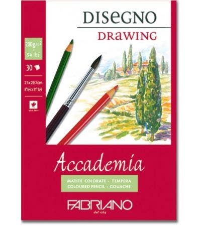 Fabriano Drawing Pad 200g A2
