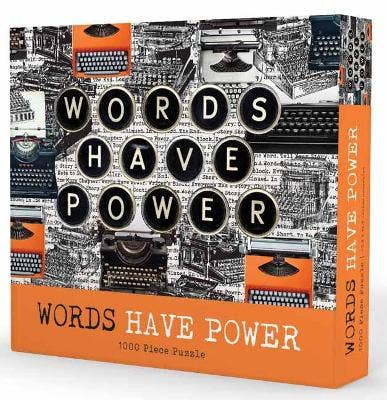 1000-piece puzzle: Words Have Power