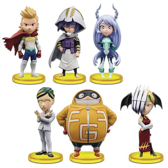 My Hero Academia World Collectible 12pc Bmb Fig Asst V5