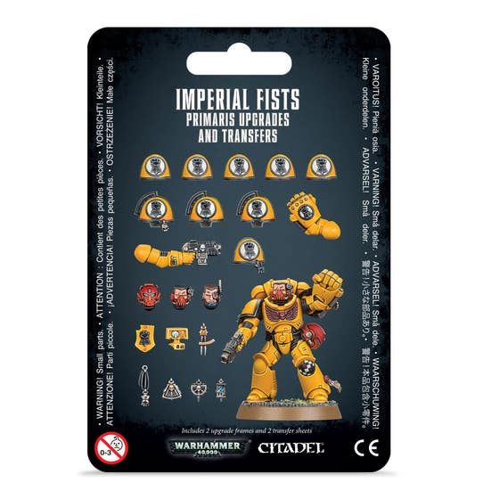 Imperial Fists Upgrades and Transfers