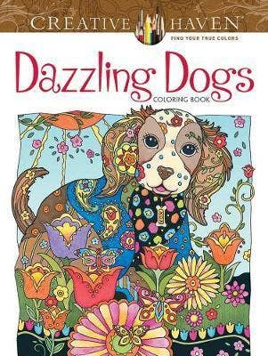 Dazling Dogs Coloring Book