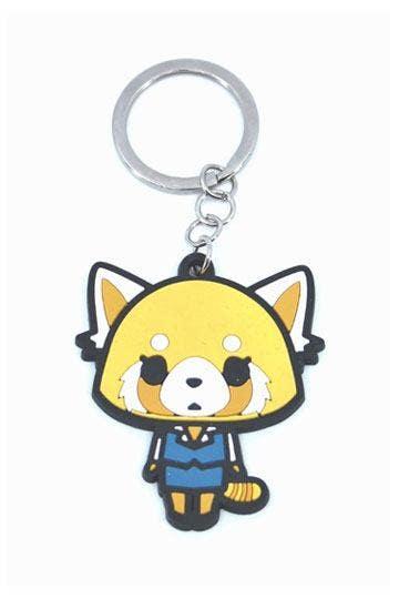 Retsuko Rubber Keychain 6 cm