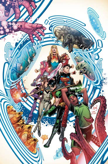Young Justice Volume 2: Lost in the Multiverse