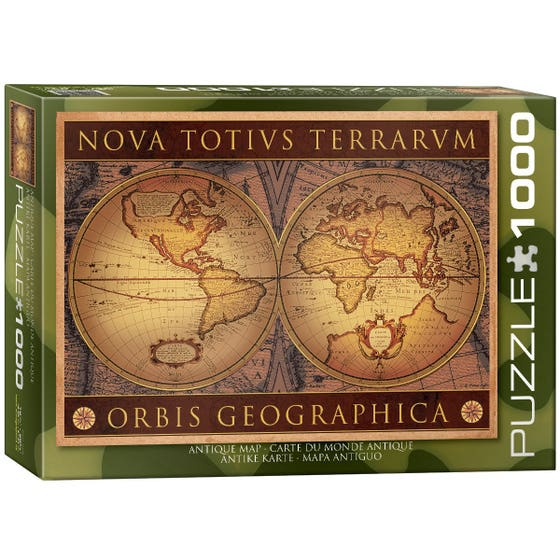 Antique Map: Nova Totivs Terrarvm Puzzle (1000)