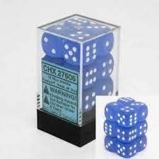 Frosted 16mm D6 Blue /White (12)