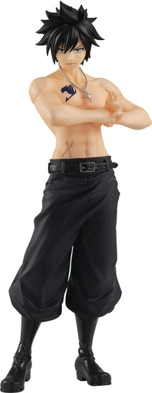 Fairy Tail Final Pop Up Parade Gray Fullbuster Pvc Fig