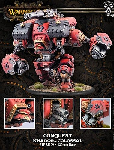 Conquest/Victor Colossal Warjack