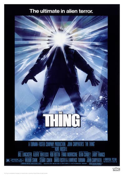 Classic Poster, the Thing Limited Edition Art Print