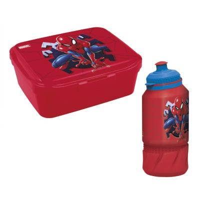 Spider-Man Lunchbox and Bottle
