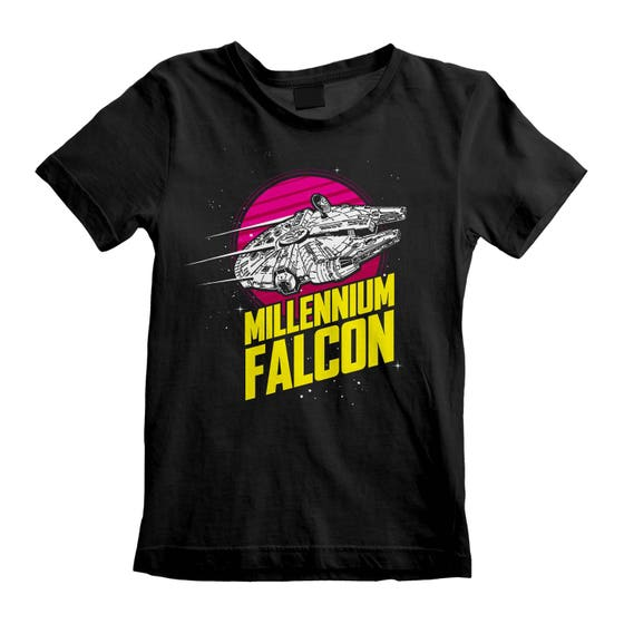Millenium Falcon Circle Kid's T-Shirt (3-4 Years)