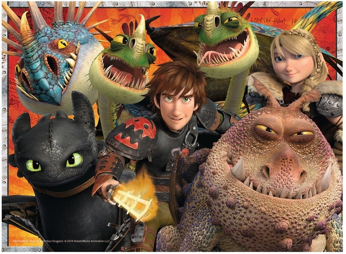 Hicks, Astrid and the Dragon Puzzle (200)
