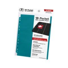 Side-Loading Petrol Blue 18-Pocket Pages (10)