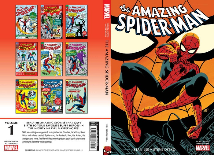 Mighty Mmw Amazing Spider-man Great Power Tp, Cho Cover