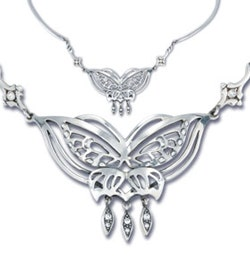 Arwen's Butterfly Necklace