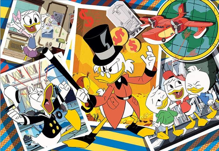 Disney Duck Tales Puzzle (104)