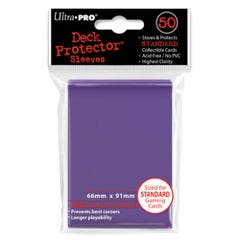 Color Purple Standard Size Deck Protector Sleeves (50)