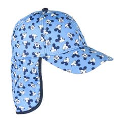Light Blue 3D Mickey Cap with Backflap
