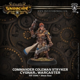 Commander Coleman Stryker - Warcaster