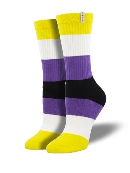 Non Binary Pride Socks (L/XL)