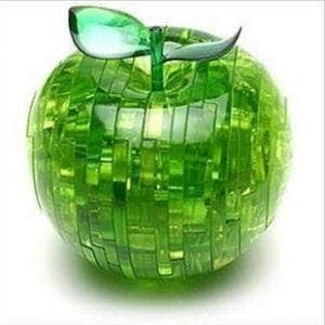 Green Apple 3D Crystal Puzzle