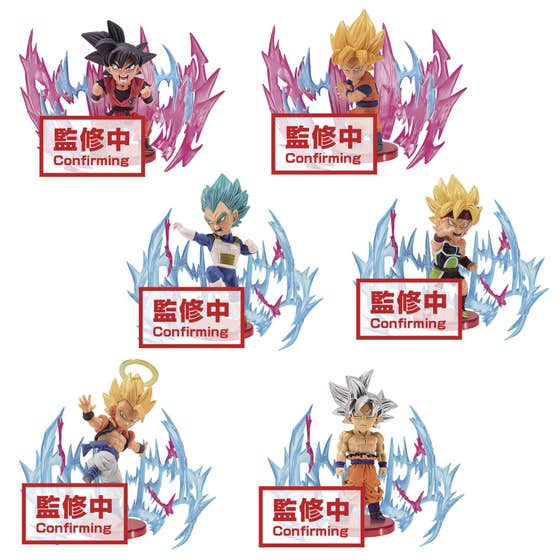 Db Super World Collector's Plus Effect 6pc Bmb Fig Asst