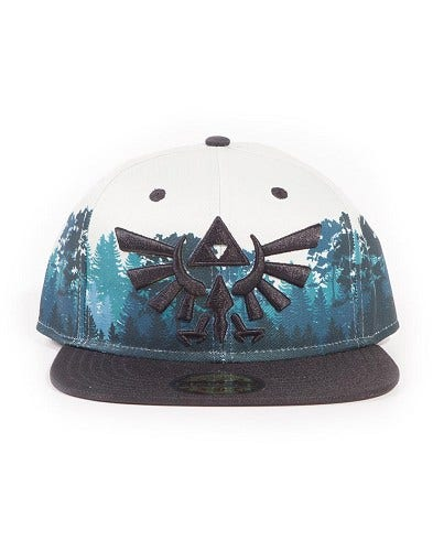 Green Forest Snap Back Cap