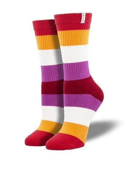 Lesbian Pride Socks (S/M)