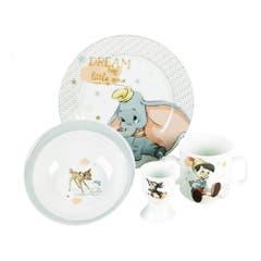 Dumbo, Pinocchio, Thumper & Bambi Crockery Set