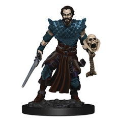 D&d Icons Realm Premium Painted Fig Human Warlock Male