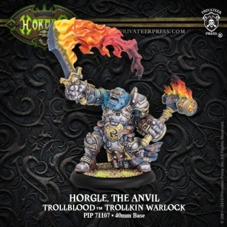 Horgle the Anvil Warlock (Resin and White Metal)