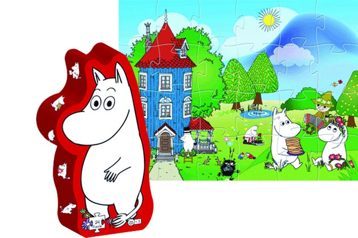 Moomintroll Figure Puzzle (24)