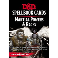 Martial Powers & Races Spellbook Cards (61 Cards)