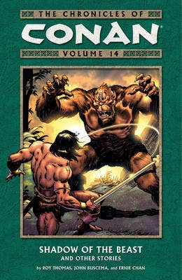 The Chronicles of Conan: Volume 14: Shadow of the Beast and Other Stories