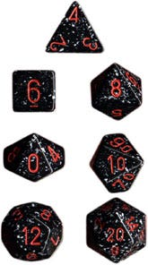 Speckled D10 Space (10)