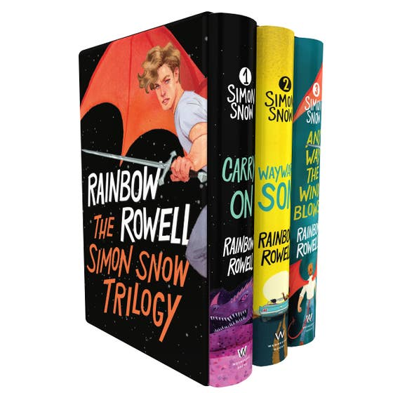 Simon Snow Boxed Set: Wayward Son, Carry On, Any Way the Wind Blows
