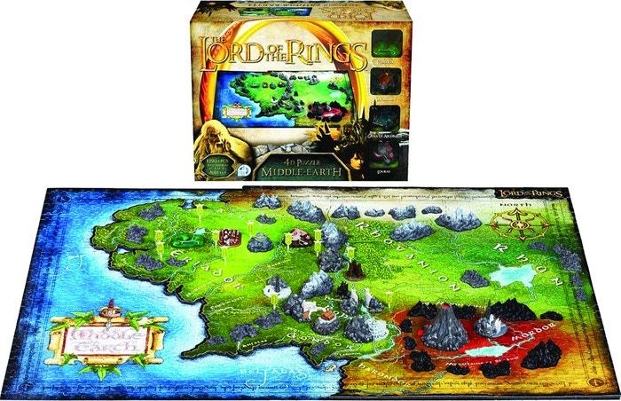 Middle Earth 4D Cityscape Puzzle (2100)