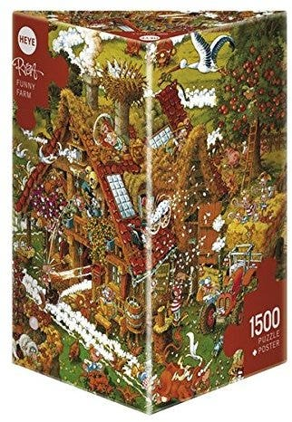 Funny Farm Puzzle (1500)
