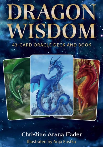Dragon Wisdom: 43-Card Oracle Deck and Book